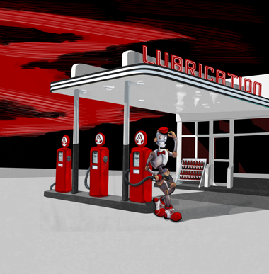 Lubrication illustration