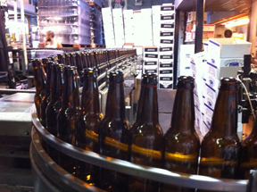 Mercury Brewing Bottling