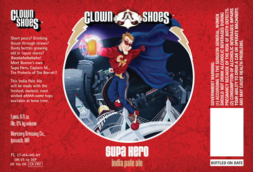 Clown Shoes Supa Hero