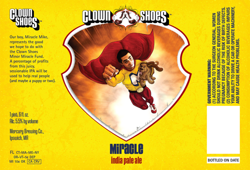 Clown Shoes Miracle IPA