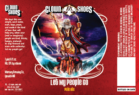 Let My People Go Pale Ale Label